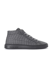 Croco high sneakers in leather