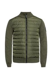 'Hybridge' quilted down jacket