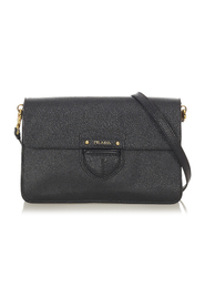 Pre-owned Cinghiale Leather Crossbody Bag