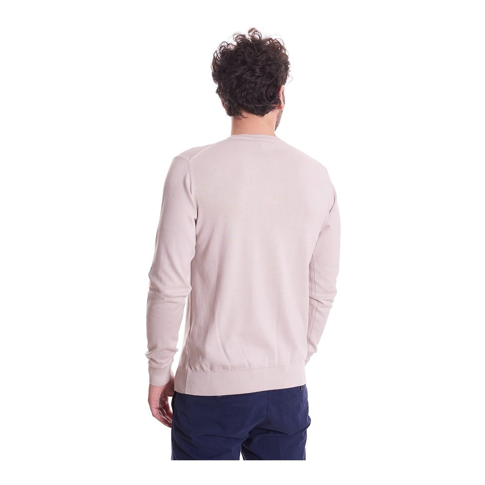 Beige CREW NECK SWEATER | Trussardi Jeans | Sweaters | Heren winter kleren