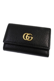 GG Marmont Key Holder Leather Calf