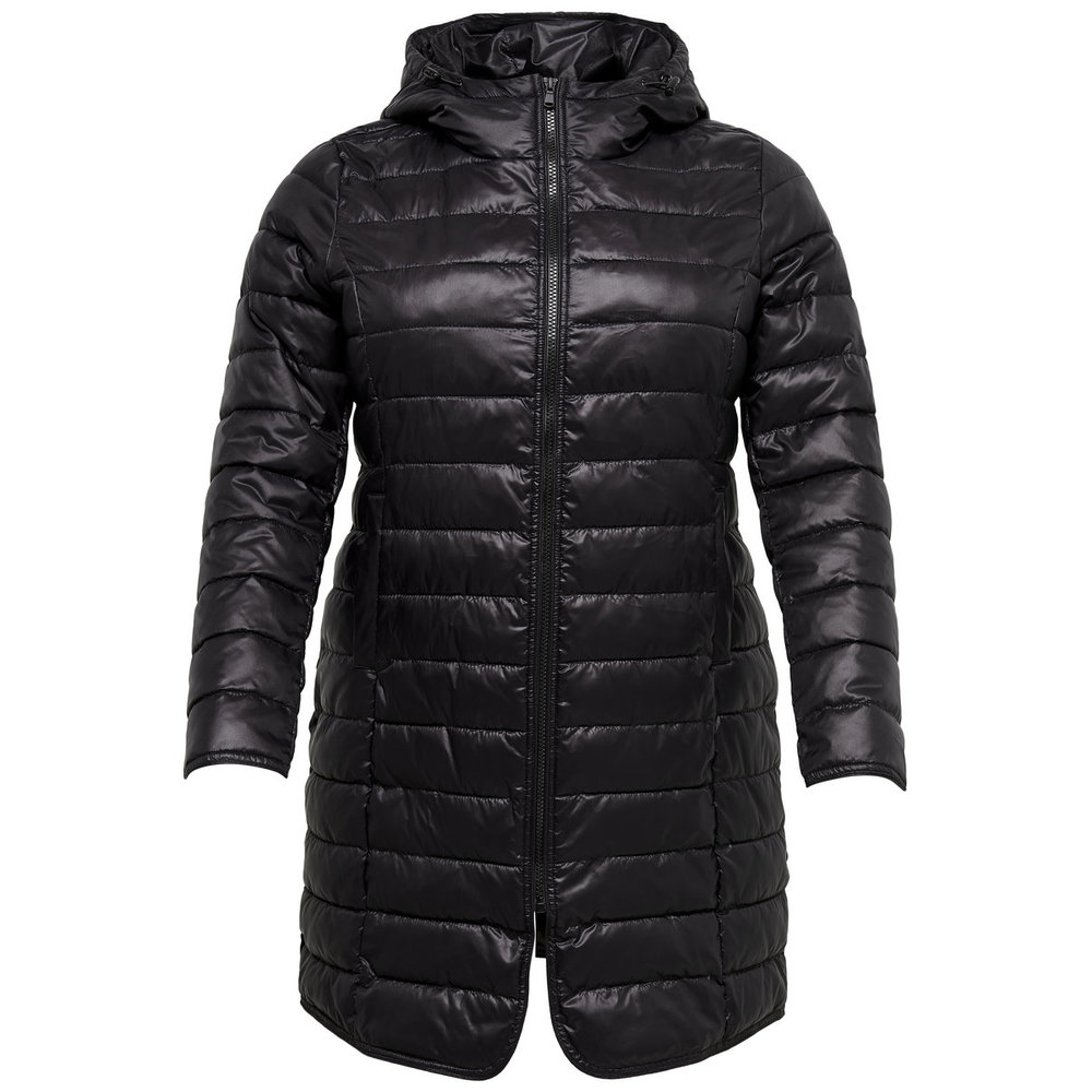 Quilted jacket Curvy long