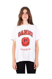 T-shirt smiley rouge