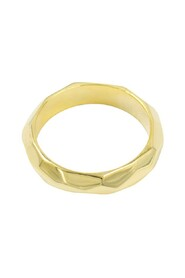 Structured Ring Gold