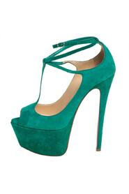 Suede Talitha Pumps