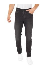 Spijkerbroek Heren Stretch Regular Fit Jeans - DP17