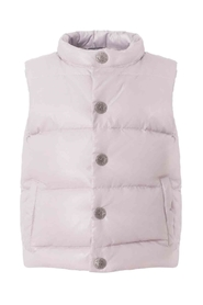 Ver de Terre Featherlight Baby Vest Rose Powder