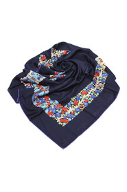 Printed Scarf Fabric Silk