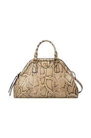Medium RE(BELLE) Genuine Python Satchel