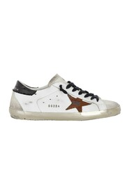 SUPER-STAR  UPPER  STAR AND SPUR CANVAS HEEL METAL LETTERING sneakers