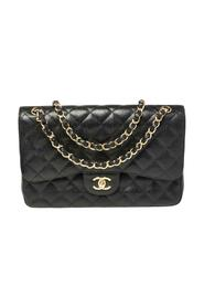 brukt Quilted Caviar Leather Jumbo Classic Double Flap Bag