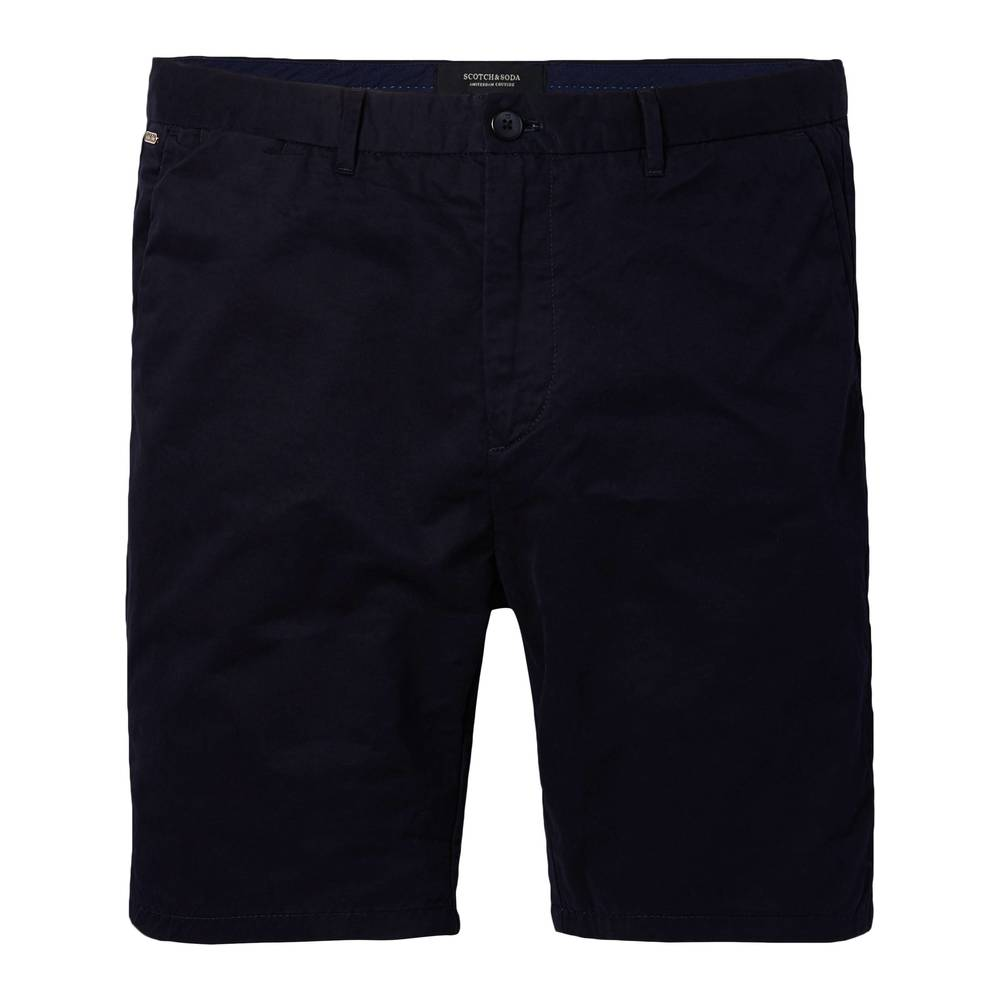 SCOTCH & SODA Classic chino shorts svart