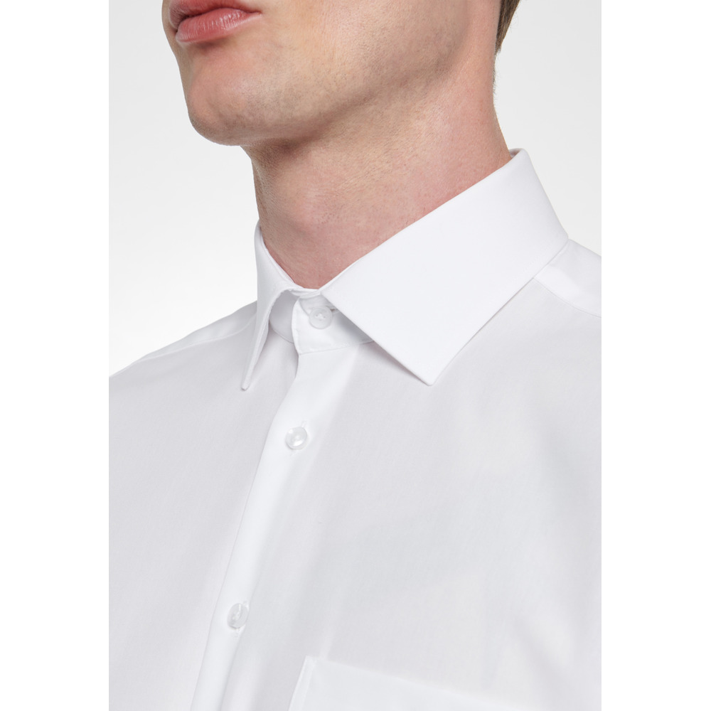 White Business Shirt Regular | Seidensticker | Zakelijke Overhemden | Herenkleding