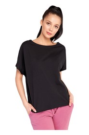 Loose T-shirt with oversized Nanette cut