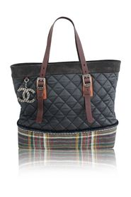 Paris Edinburgh Quilted Tote
