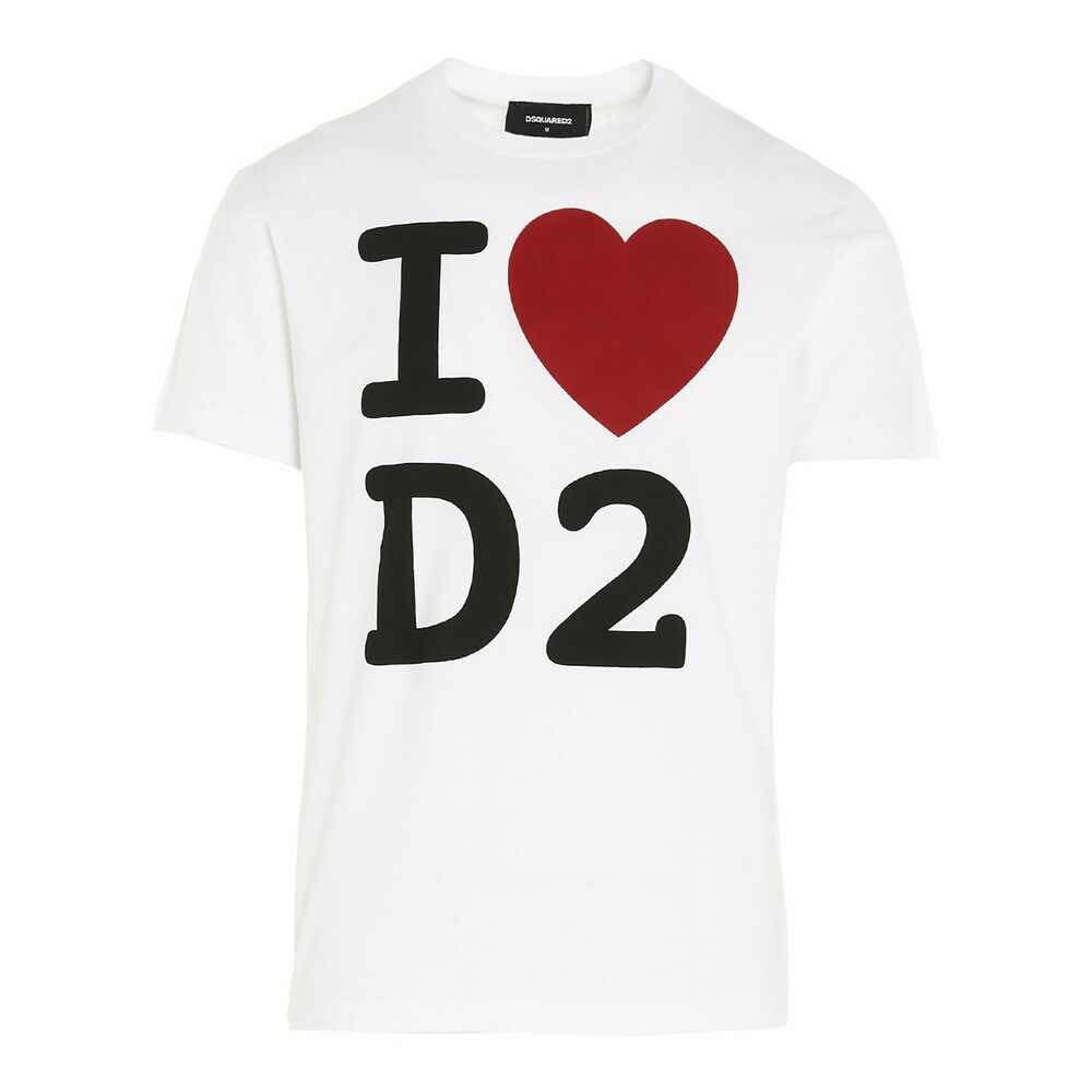 Se Dsquared2 Trykte t-shirt ved Miinto