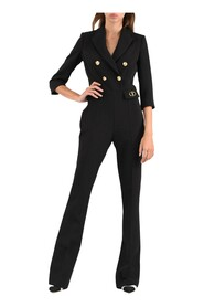 One-piece double-breasted jumpsuit
