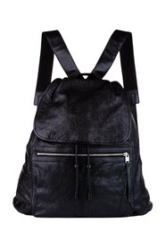 Pre-owned Motocross Classic Traveler S Leather Backpack