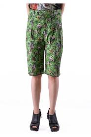 LONG PLEATS SHORTS ANIMAL WISH SLOTH