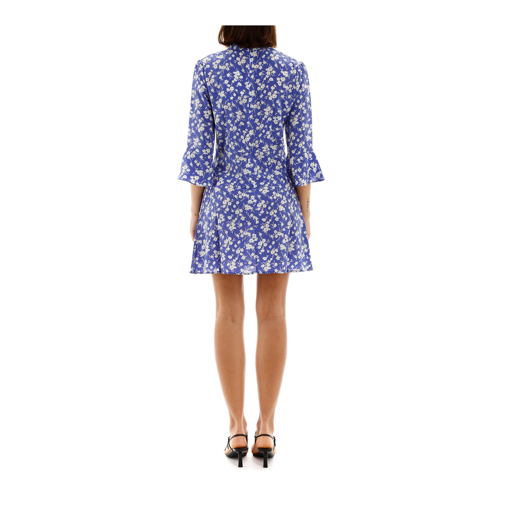 HVN Blue Ashley mini dress HVN