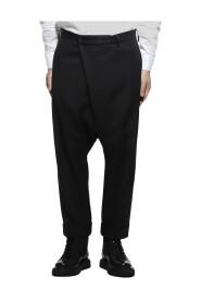 Pleated Slacks Pants