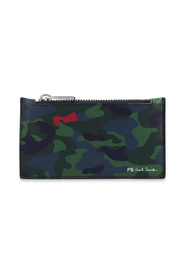 Card holder with camo pattern
