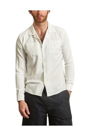 Wave Linen and Cotton Shirt