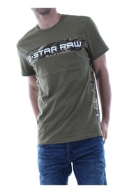 G-STAR D12868 336 GRAPHIC 7 T SHIRT AND TANK Men SAGE