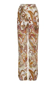Wide trouser big paisley