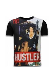 Hu$tler - Digital Rhinestone T-shirt