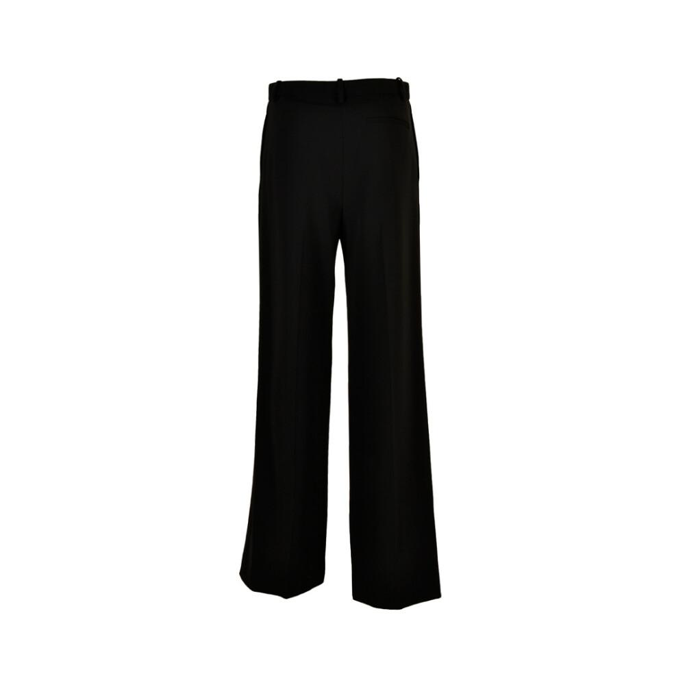 Black Pantalone  Theory  Spodnie materiałowe szerokie  Showroom.pl OJgKU
