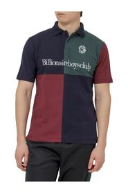 Polo Shirt with Panels