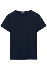Evening Blue Gant The Original Ss T-Shirt T-Shirt