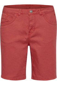 Hvid Capri Twill Shorts Regular Fit