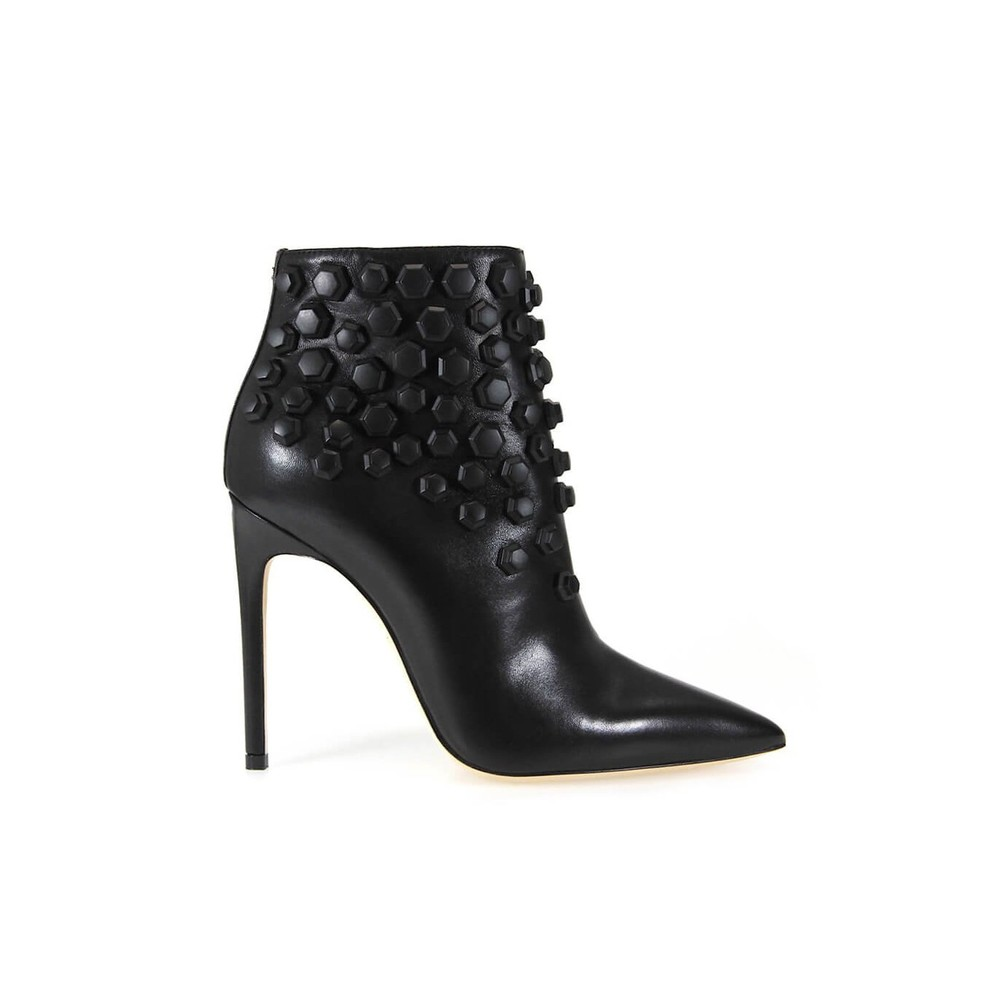 BASIC STUDDED ANKLE BOOT