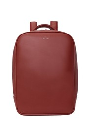 Alex Loom faux-leather backpack