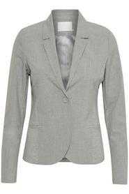 Jillian blazer light grey melange - Kaffe