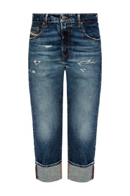 D-Reggy raw edge jeans