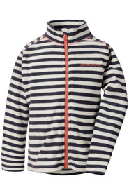 Blå stripete Didriksons Monte fleecejakke