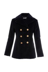 Jacket in velvet