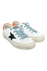 BALL STAR LEATHER UPPER SHINY LEATHER STAR SUEDE HEEL