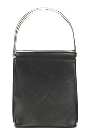 Trinity Cage Leather Handbag