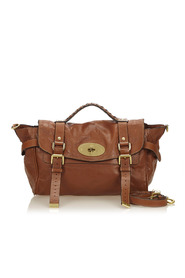 Leather Alexa Satchel Leather Others United Kingdom