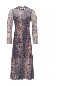 'Hanna' dress with funnel neck