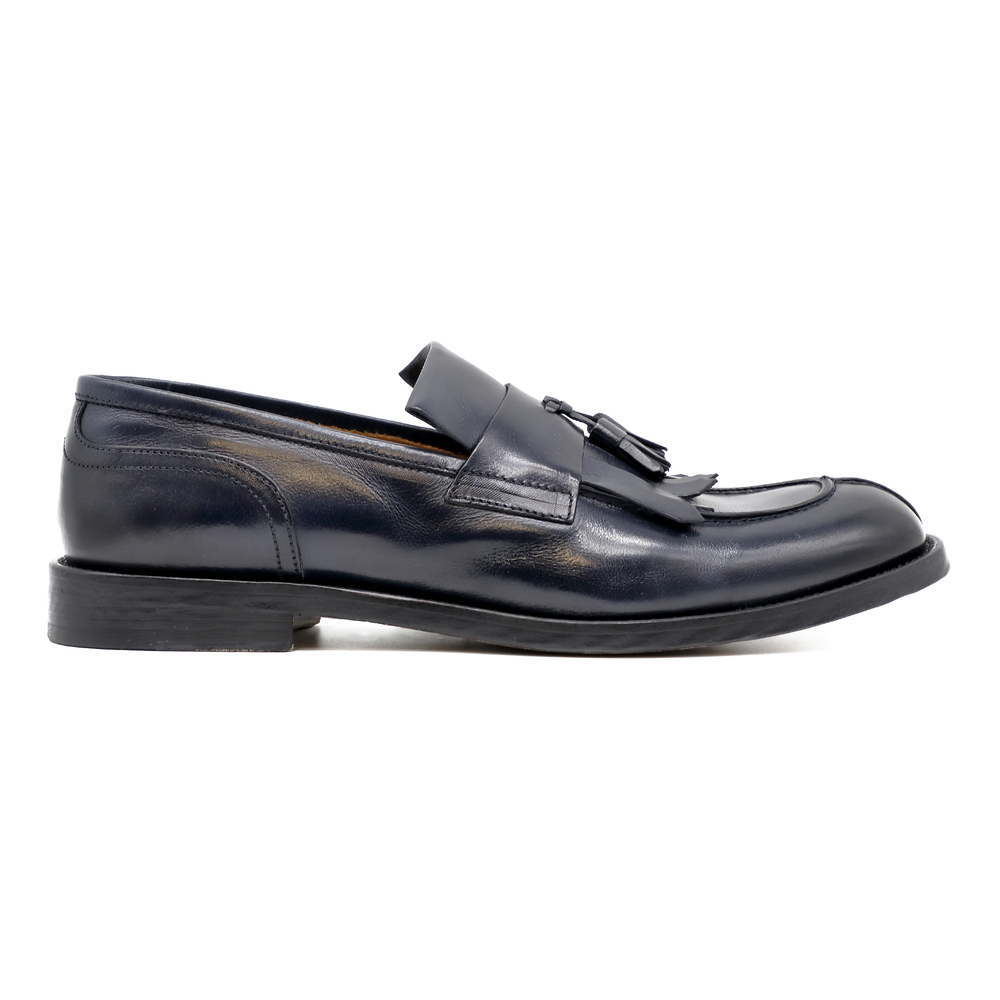 Black Polo Goose loafers | Doucals | Loafers | Men's shoes