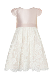 Lace Bridesmaid Girl Party Dress