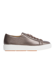 Sneker cleanic in textured laminated leather