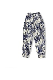 Printed Relax Pants