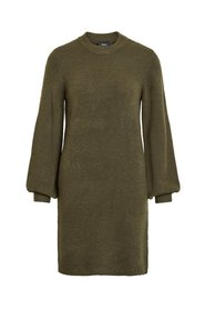 Knitted Dress Balloon sleeved