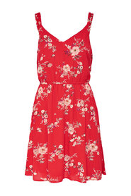 Sleeveless dress Flower printed